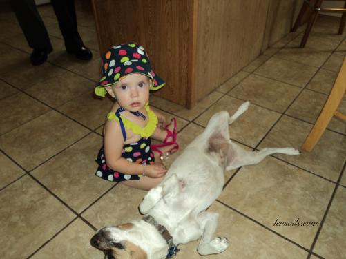 Sopia and Maggie