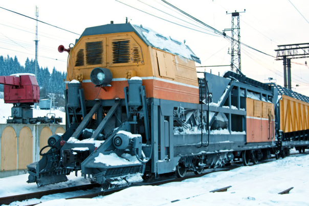 Train in snow lensoils.com