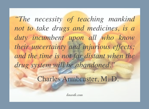 Charles Ambruster, M.D. Quote
