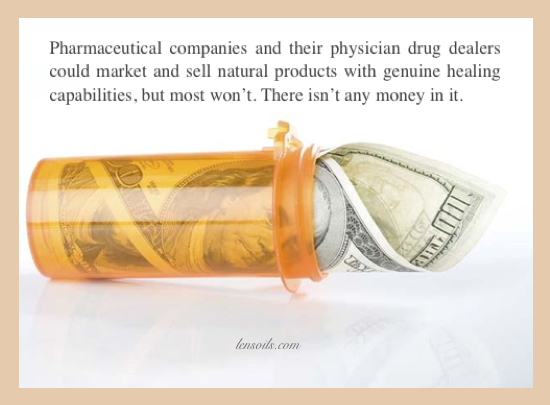 No Money in Alternative health