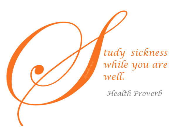 Health Proverb