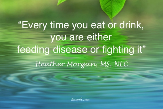 Heather Morgan feeding disease