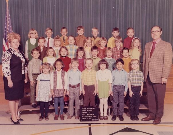 Leonard Fish 1st grade class