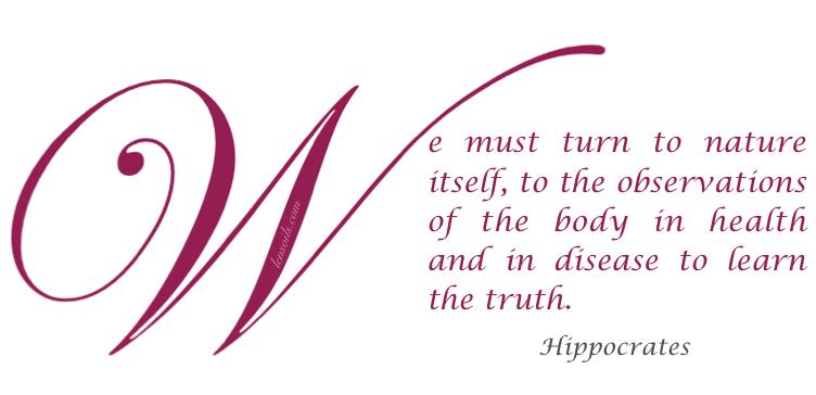 Health Proverb Hippocrates