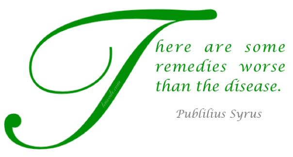 Publilius Syrus Health Proverb