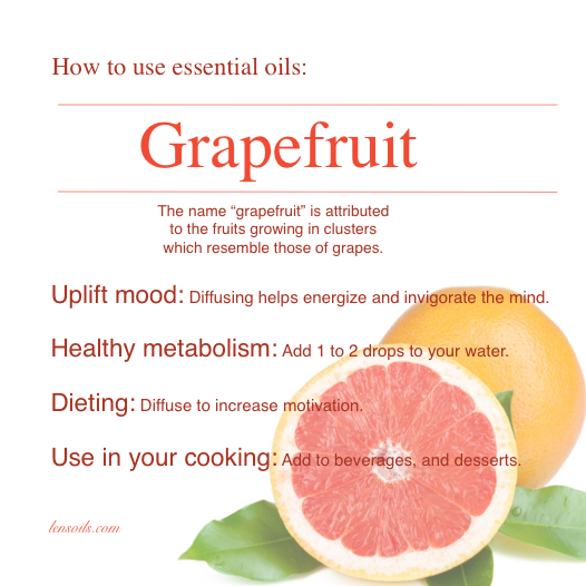 How To Use Grapefruit Essential Oil