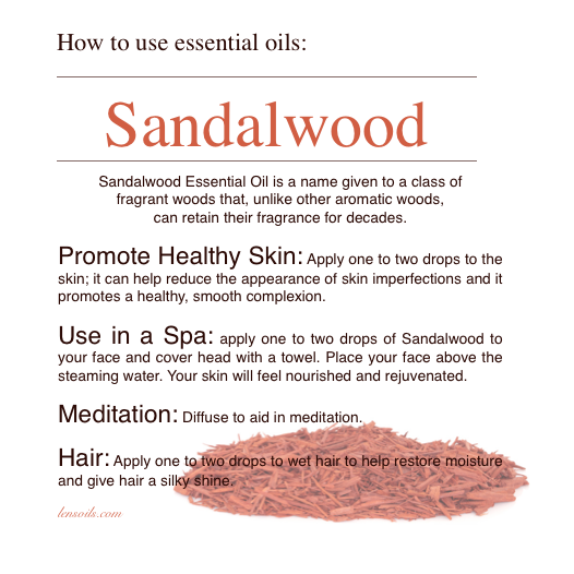 How to use Sandalwood Essential Oil