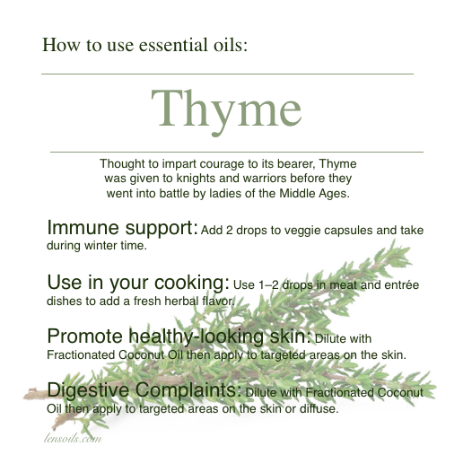 How to use Thyme essential oil