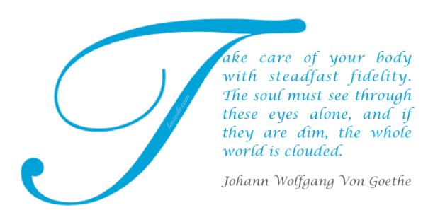 Health Proverb Johann Wolfgang Von Goethe