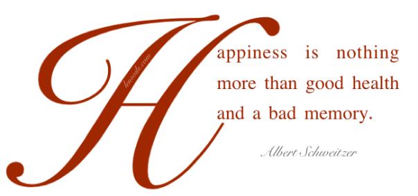 Health Proverb Albert Schweitzer