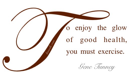 Health Proverb Gene Tunney