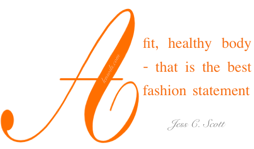 Health Proverb Jess C. Scott