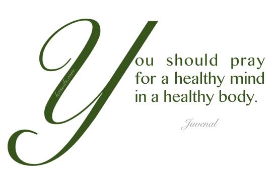 Health Proverb Juvenal