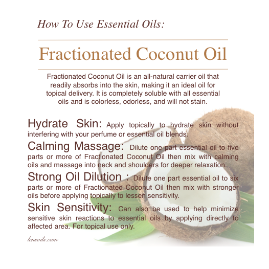 How to use Fractionated Coconut Oil