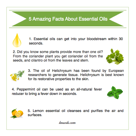 5 Amazing Facts about Essential Oils #2