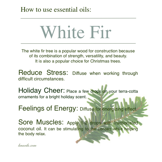 How to use White Fir Essential Oil