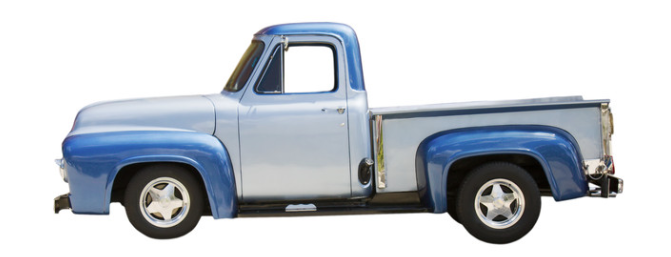 Blue Pick-up