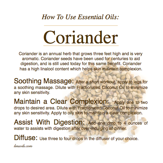 how-to-use-coriander-essential-oil