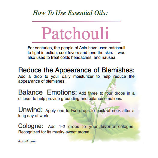 How to Use Patchouli