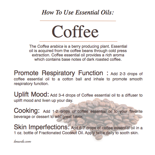 How to use essential oils Coffee