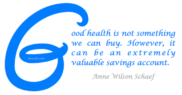 Health Proverb Anne Wilson Scheaf