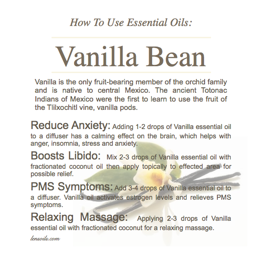 How to Use Vanilla Bean Essential Oil