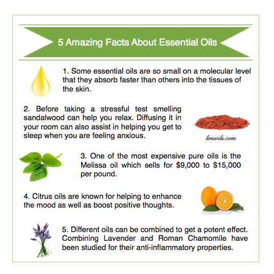 5 amazing facts about essential oils #1