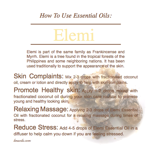 How to use Elemi Essential Oil
